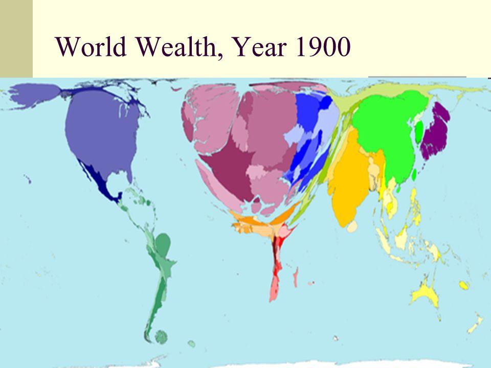 5 World Wealth, Year 1900