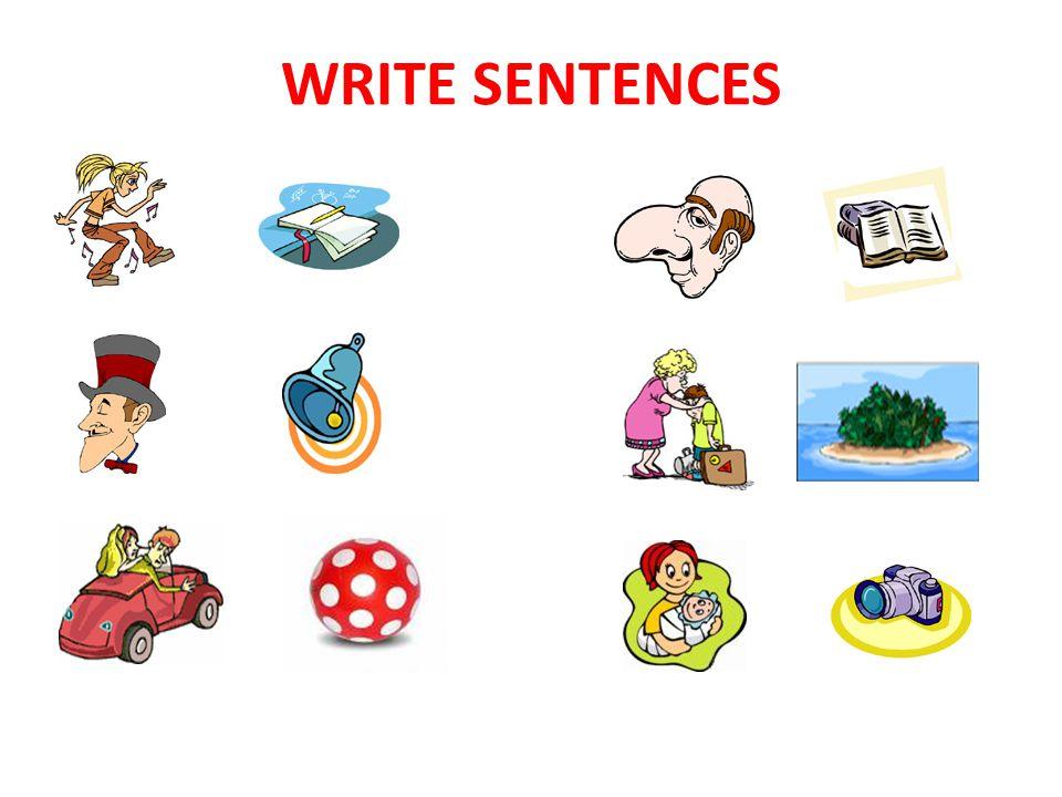 WRITE SENTENCES