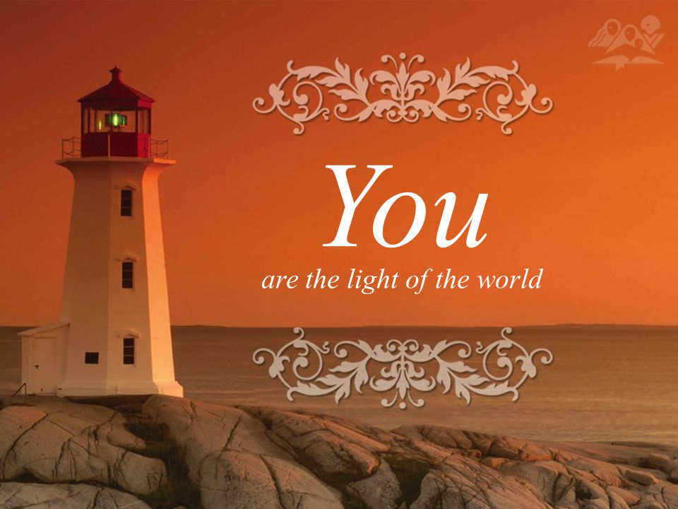 When Jesus spoke again to the people, he said, I am the light of the world.