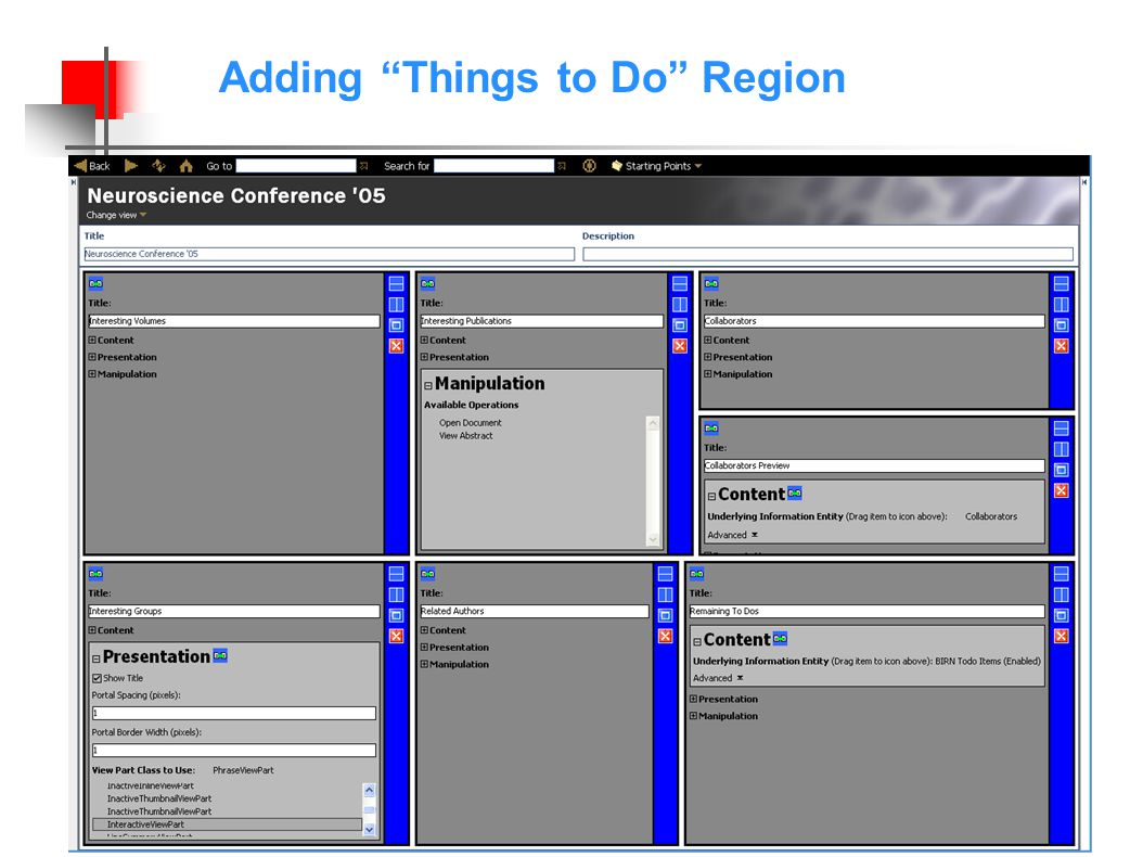 Adding Things to Do Region