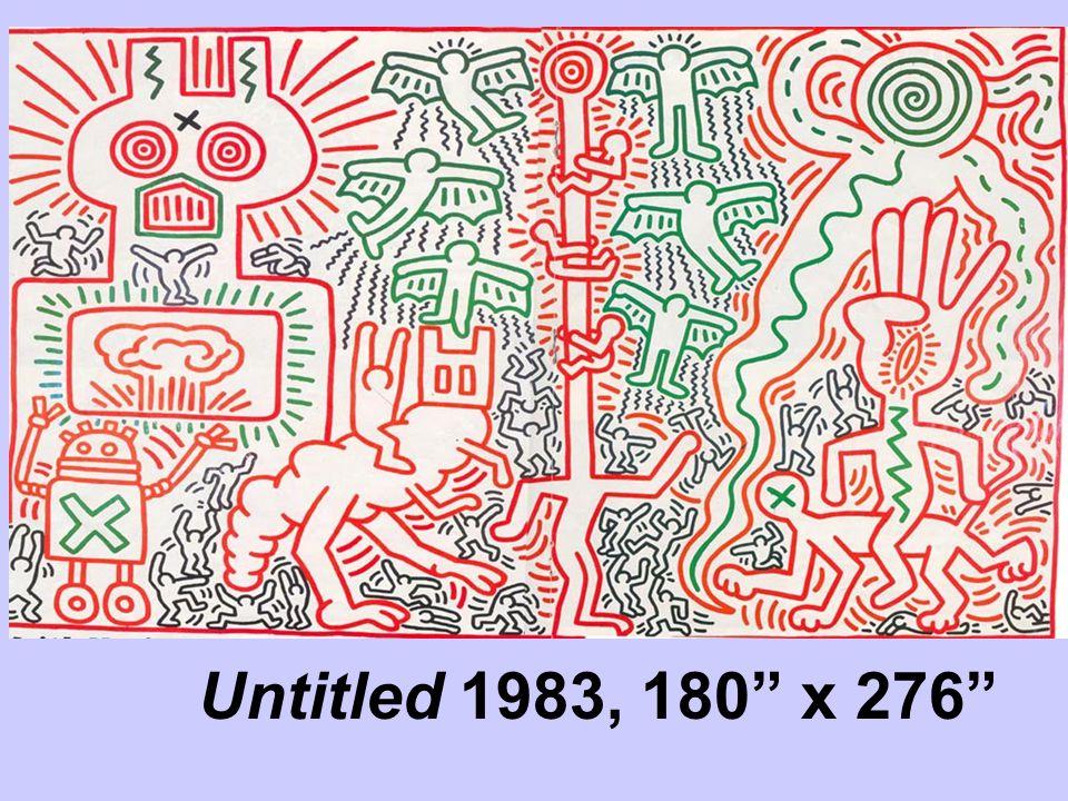 "Untitled 1983, 180"" x 276"""