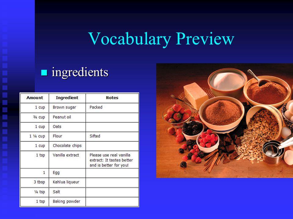 Vocabulary Preview metal detector metal detector