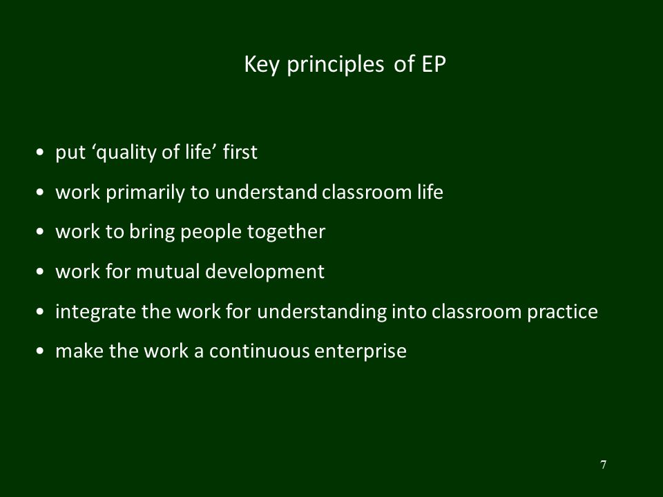From 'why don't the students engage more with my teaching.