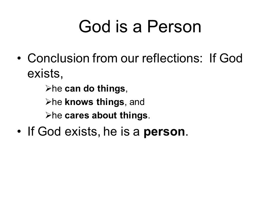 Existence of God, Existence of Evil Incompatibilism: the doctrine that, if God exists, then bad things do not happen.