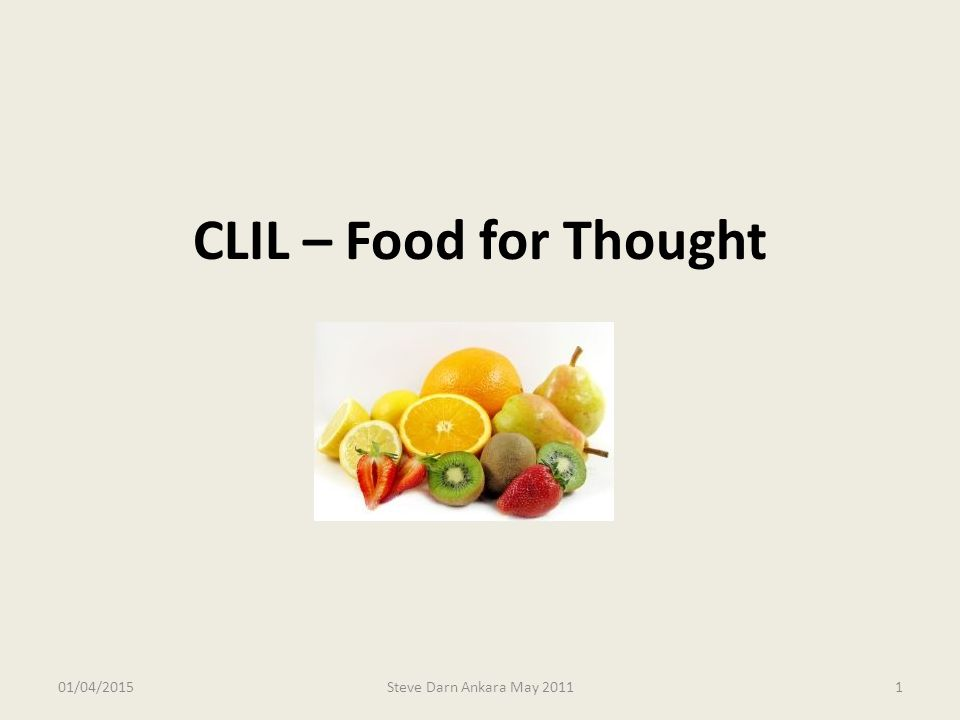 What is CLIL.Why make cross-curricular connections.