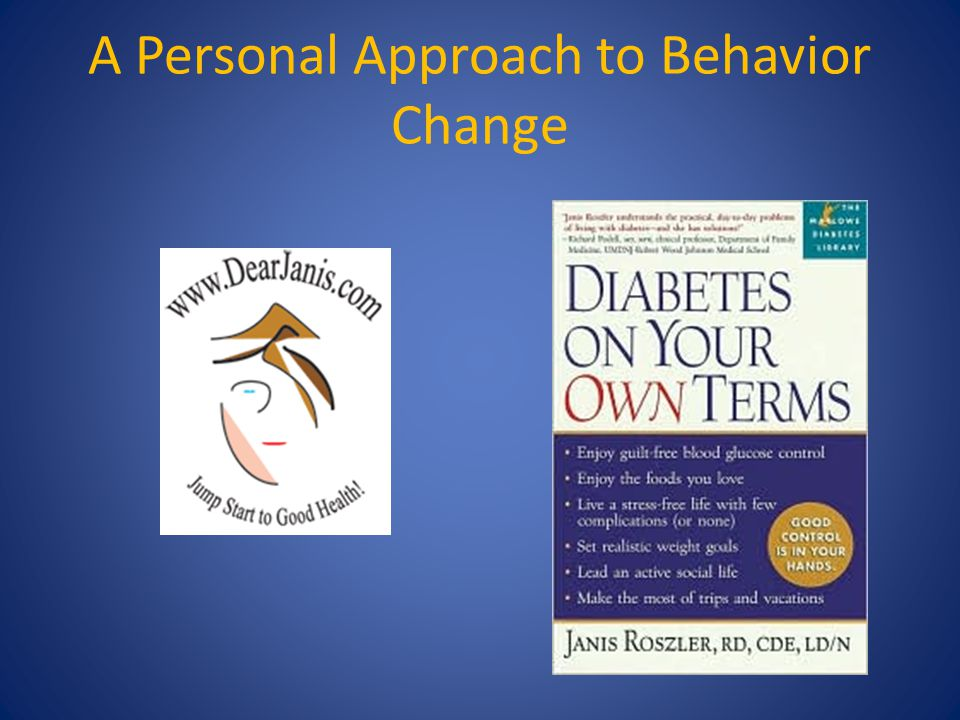 A Personal Approach to Behavior Change