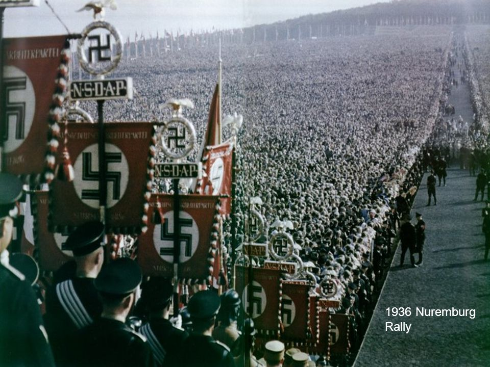 1936 Nuremburg Rally