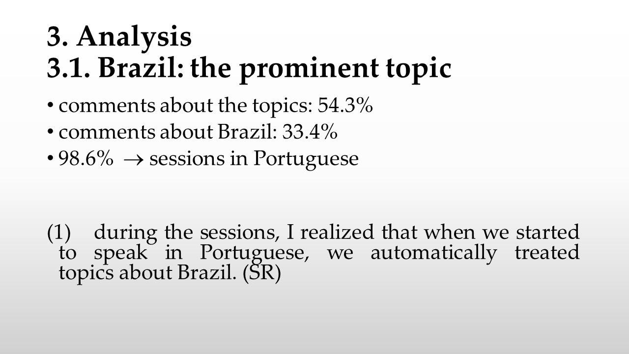 3. Analysis 3.1.