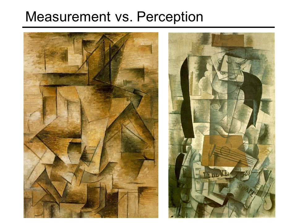 Measurement vs. Perception