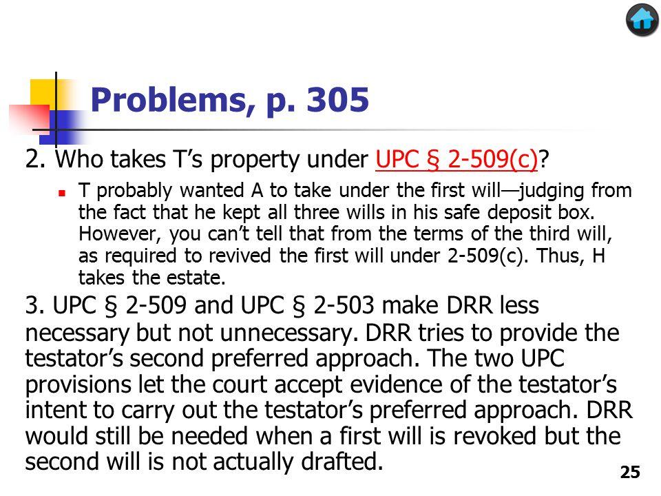Problems, p. 305 2.