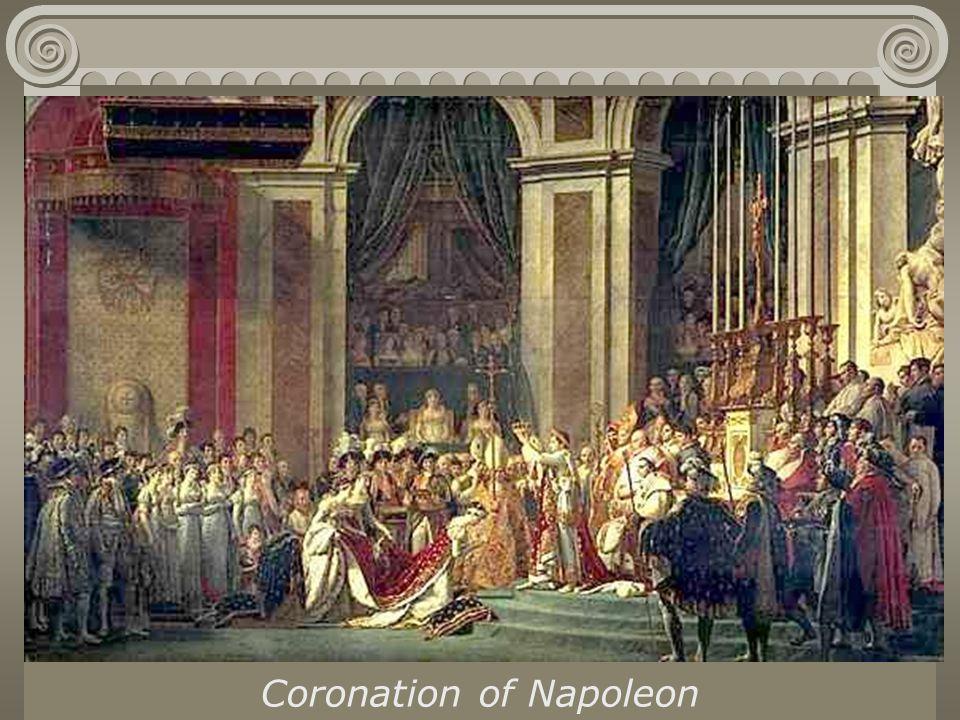 Jacques Louis David Coronation of Napoleon