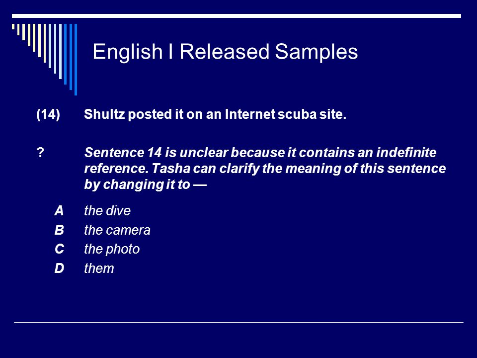 English I Released Samples (14) Shultz posted it on an Internet scuba site.