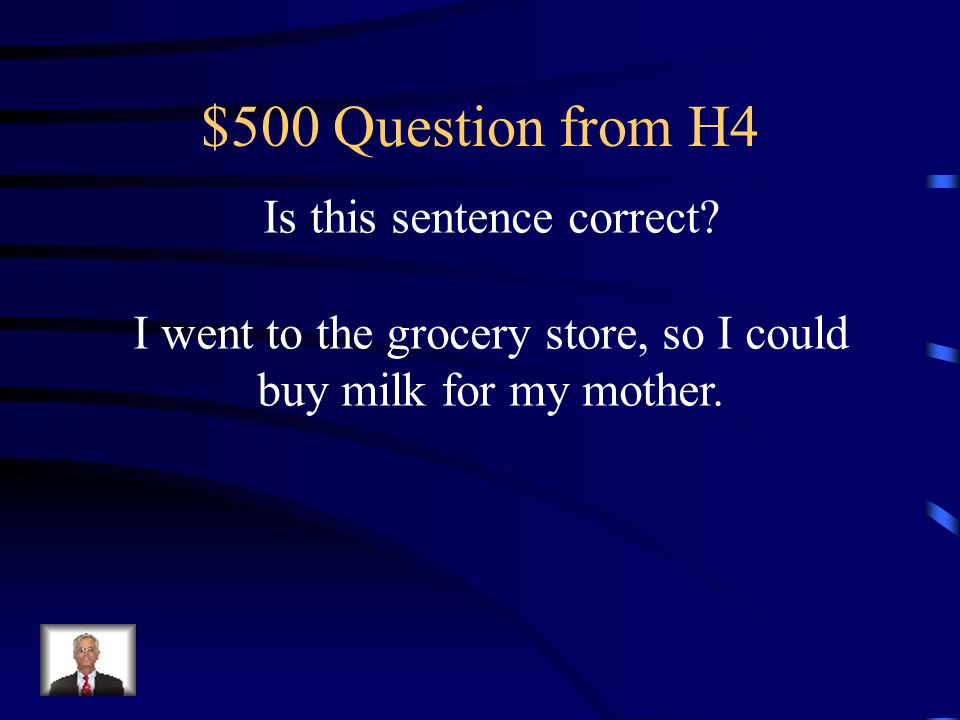 $400 Answer from H4 Since the bad fall, I have not been able to walk without a limp, and my arm hurts.