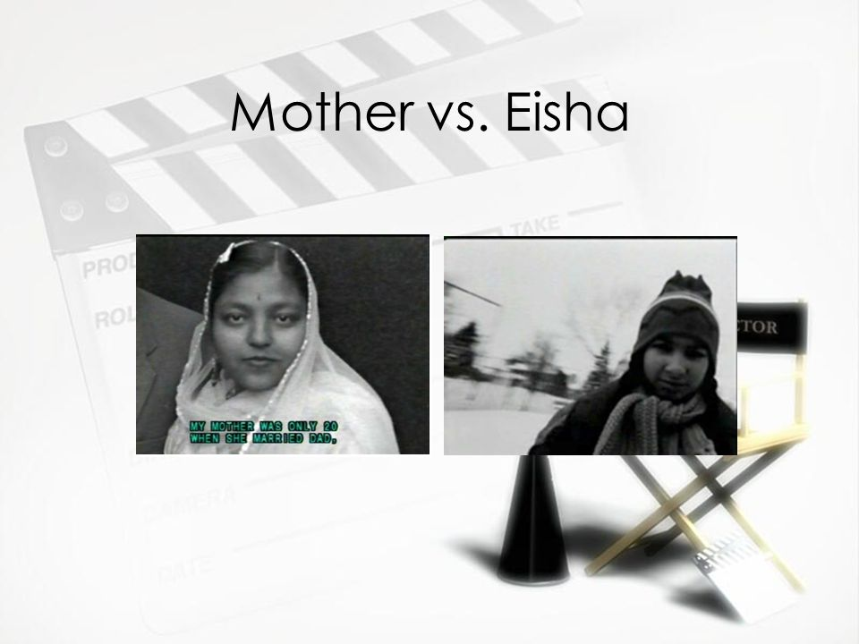 Mother vs. Eisha