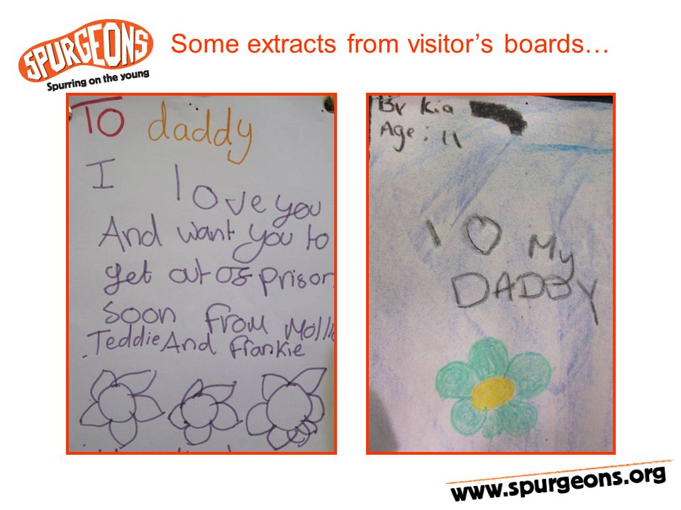 Some extracts from visitor's boards…