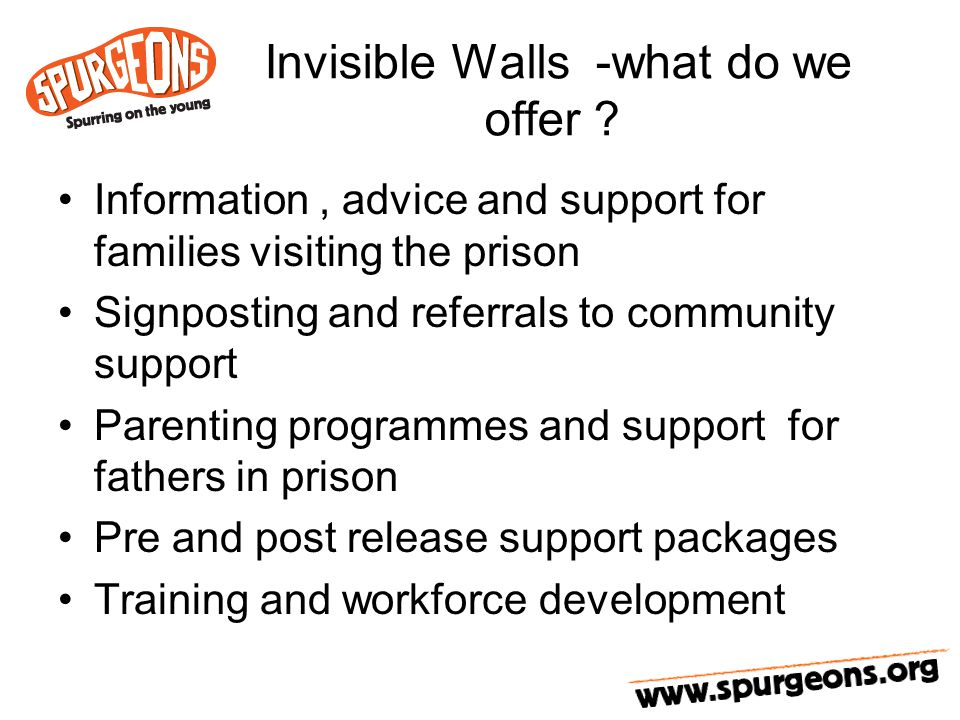 Invisible Walls -what do we offer .