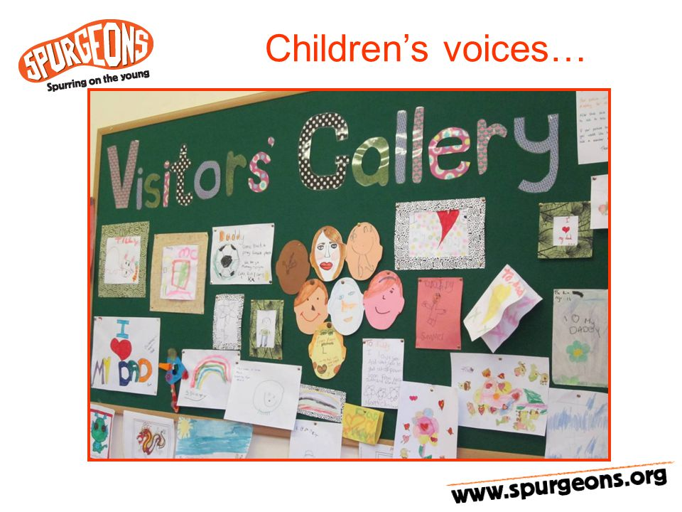 Children's voices…