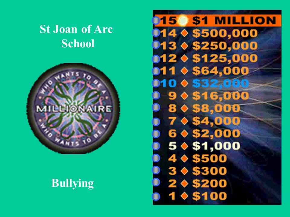 St Joan of Arc School Bullying
