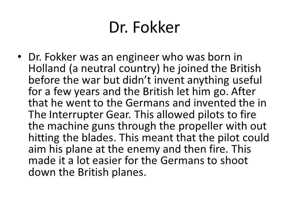 Dr. Fokker Dr.