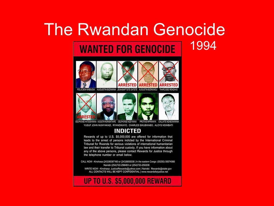 The Rwandan Genocide 1994