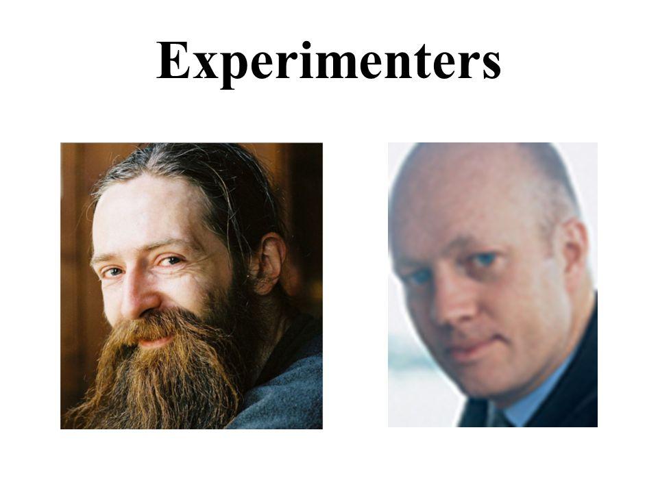 Experimenters