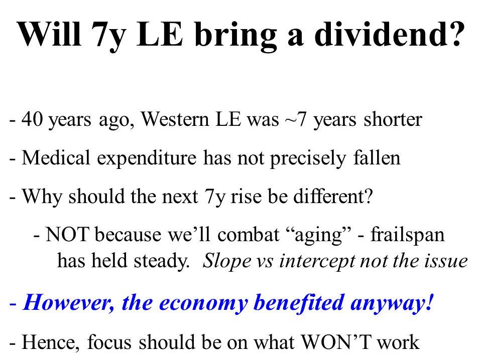 Will 7y LE bring a dividend.