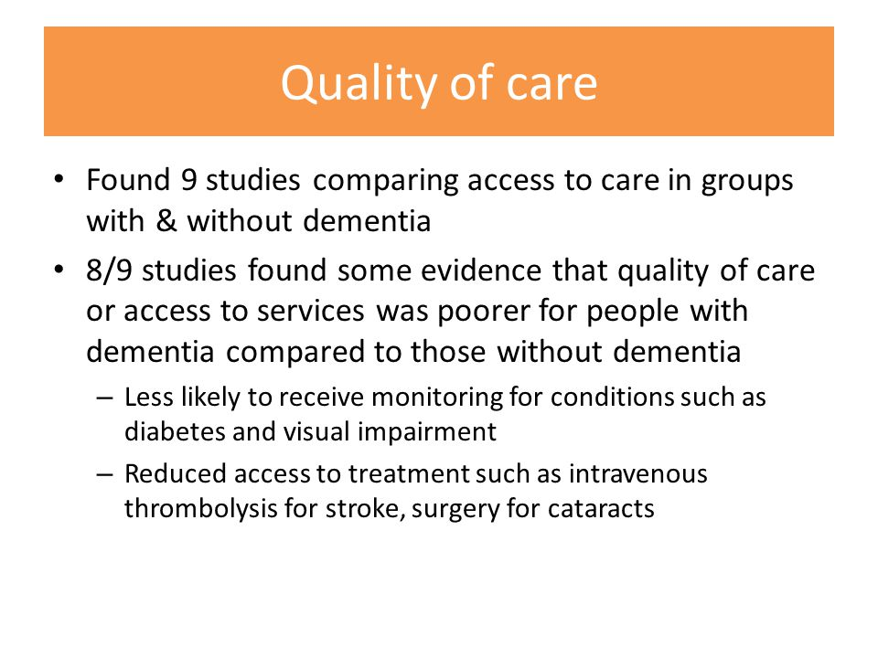 Issues relating to continuity Barriers to continuity Carers feel excluded from decision making Lack of joint working Problems with self- managem ent Models of care focus on single condition Poor communic ation between teams Carers role & experience not recognised Lack of understanding & knowledge
