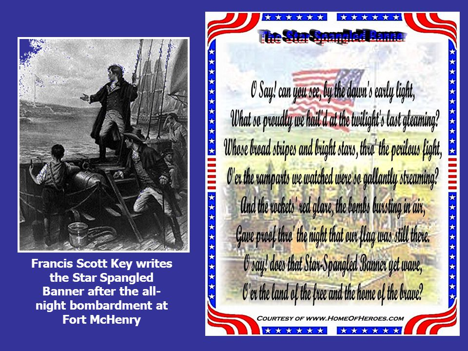WAR OF 1812 -Hartford Convention debates New England's part in war—Federalists opposing the war Want constitutional amendments to increase New England's power— states rights -Treaty of Ghent, 1814 (nothing changed hands) Officially ends the War of 1812 America recognized as a strong nation U.S.