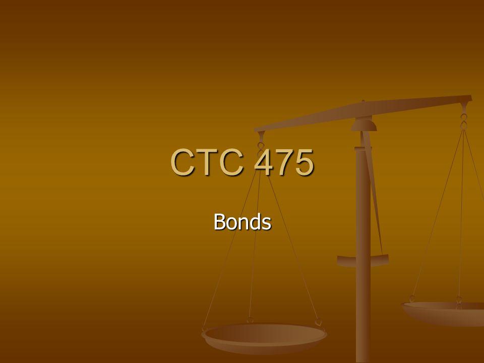 CTC 475 Bonds