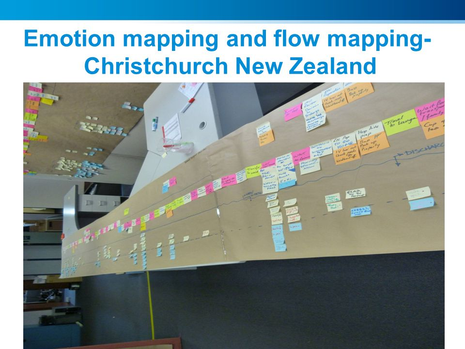 Emotion mapping and flow mapping- Christchurch New Zealand