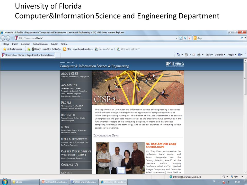 University of Florida Computer&Information Science and Engineering Department