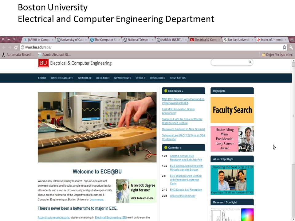 Boston University Electrical and Computer Engineering Department