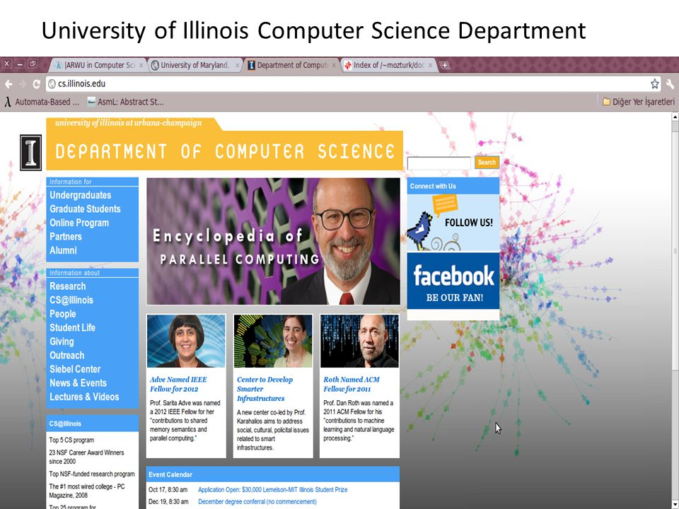 University of Illinois Computer Science Department