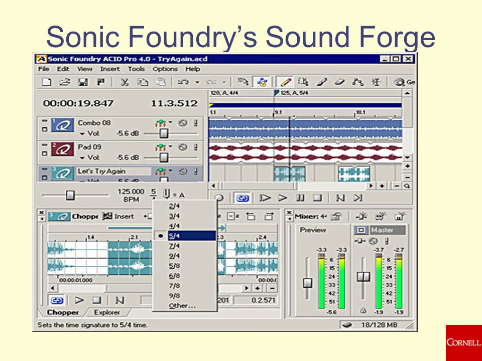 Sonic Foundry's Sound Forge