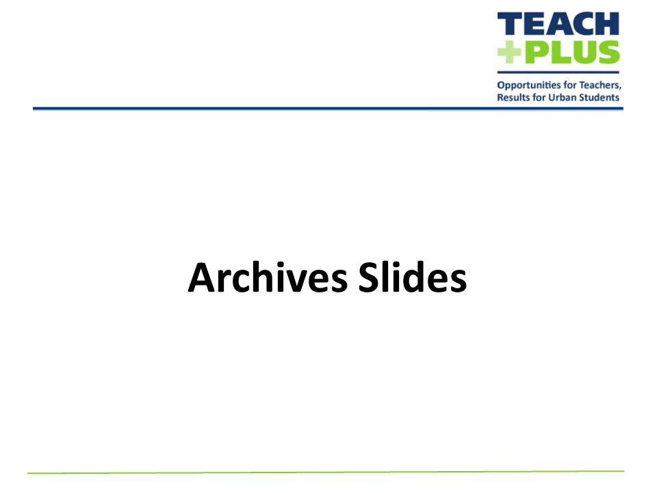 Archives Slides