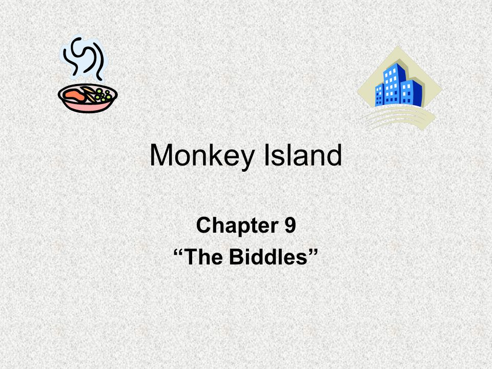 PREDICTING 1.Who do you think the Biddles are? This is your opinion.