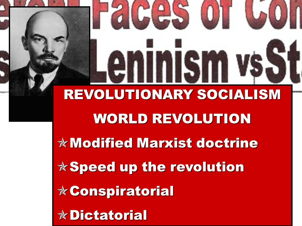  It is a strategy of revolutionary action for overthrowing capitalist society and enabling the world's workers to establish the INEVITABLE communist society