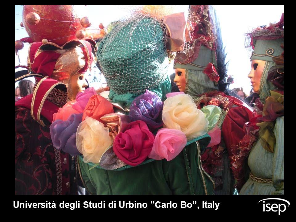 Università degli Studi di Urbino Carlo Bo , Italy