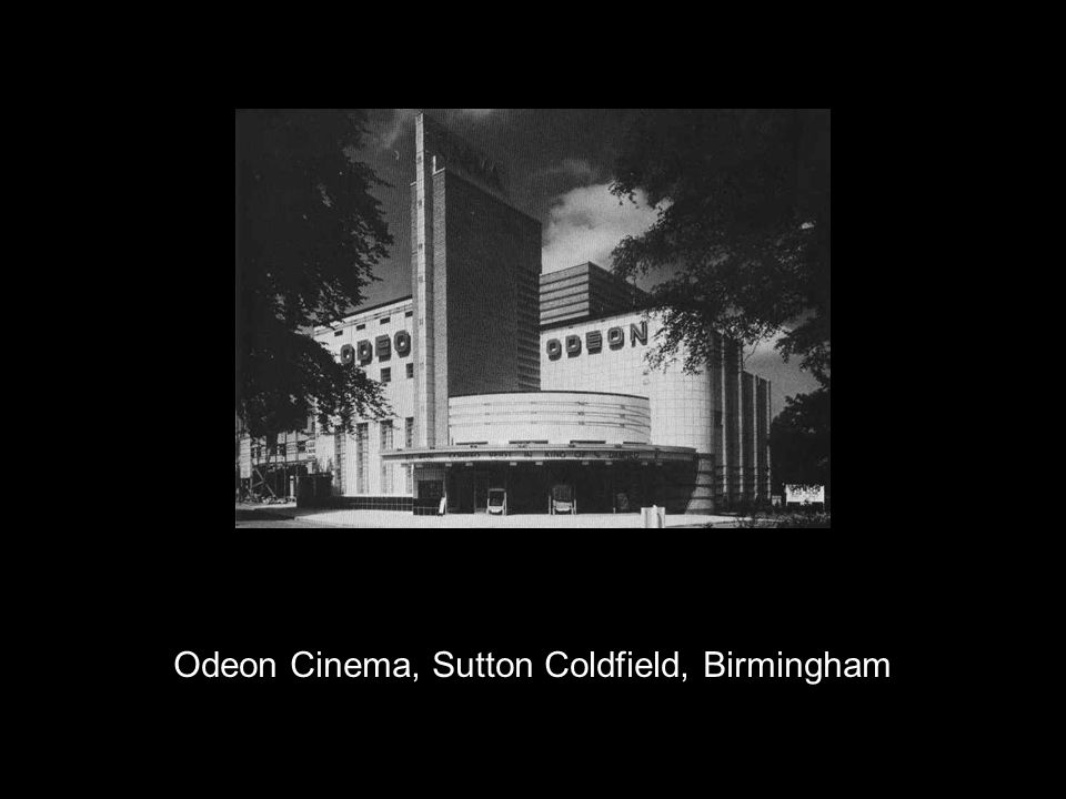 Odeon Cinema, Sutton Coldfield, Birmingham