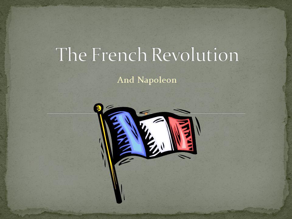 And Napoleon