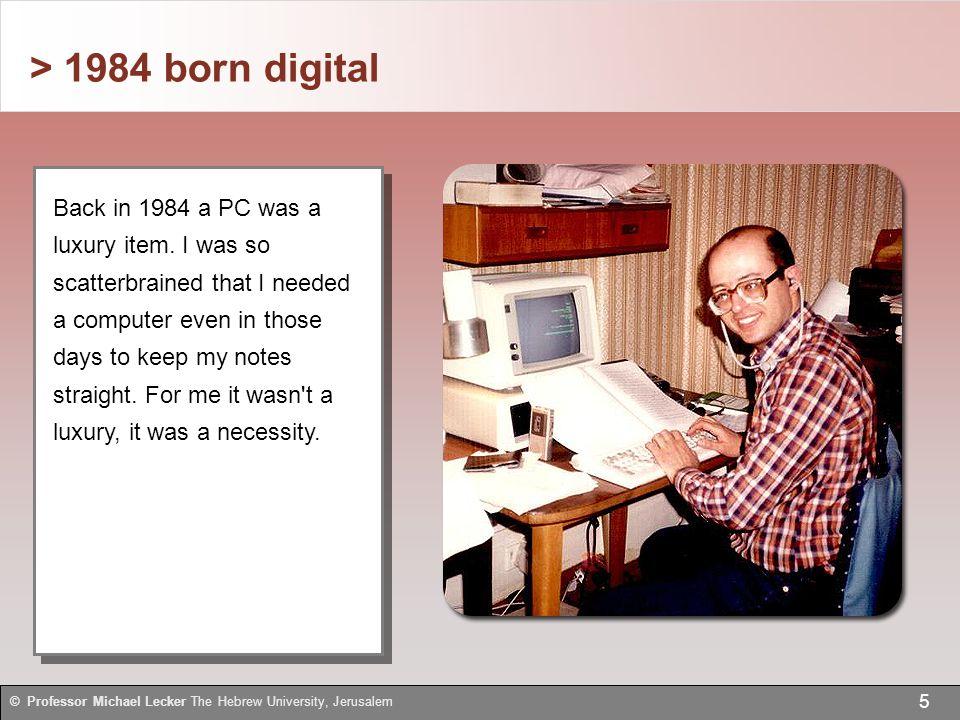> Harvesting data 26 © Professor Michael Lecker The Hebrew University, Jerusalem