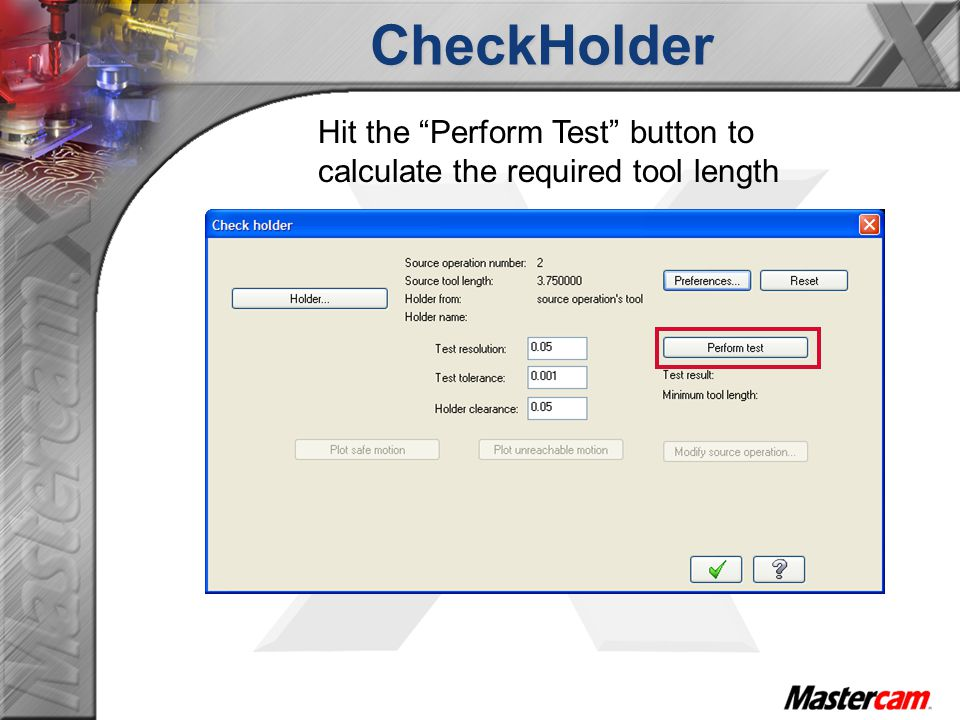 CheckHolder The Add manual entry grabs the settings from the Preferences\Manual entry section Prefix is the text output before the required tool length Suffix is the text output before the required tool length Note: The prefix and Suffix text will be kept as a default