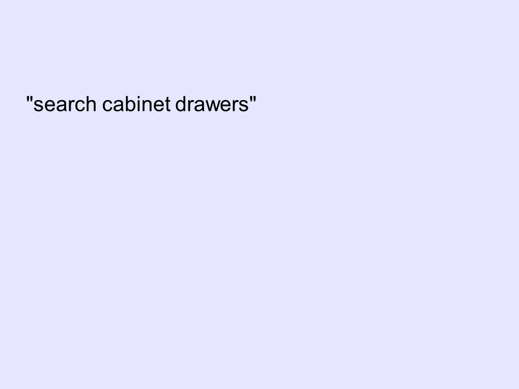 search cabinet drawers