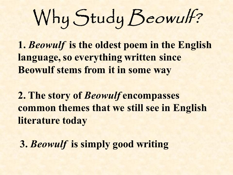 literary analysis essays beowulf The epic poem beowulf is truly a literary piece that was made to entertain, with the life of beowulf as a hero, his adventures, his battles, and even his death, makes it a wonderful read but there are other underlying concerns that could come about while reading the epic.