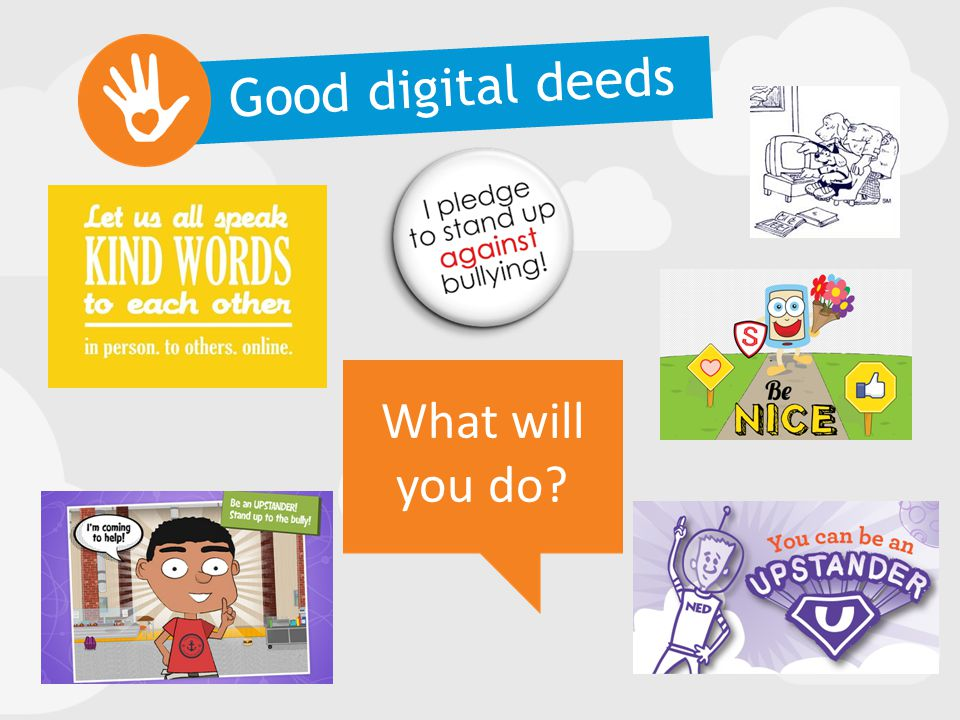 Good digital deeds What will you do?
