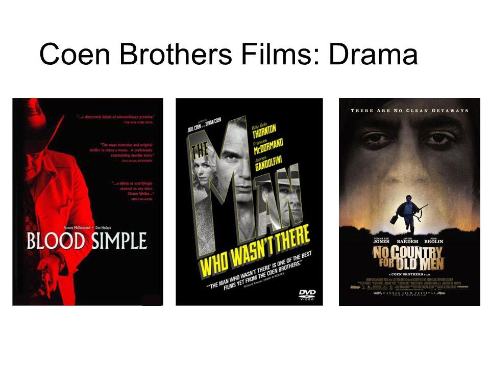 Coen Brothers Films: Drama