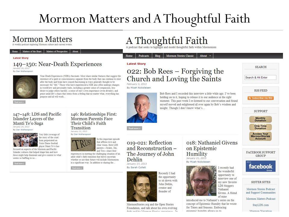 Mormon Stories Sunday School