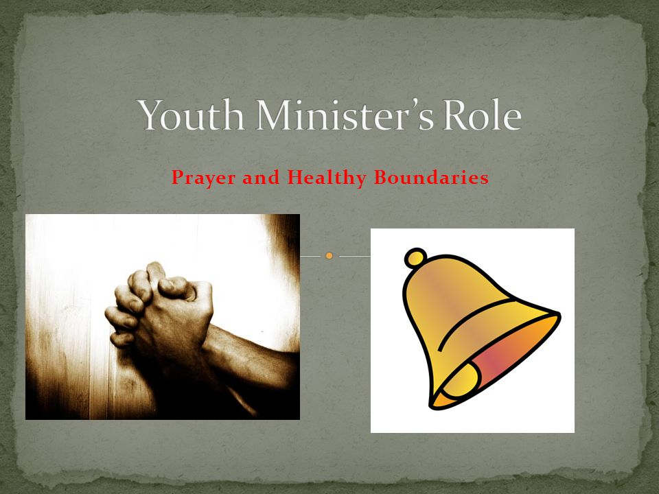 Prayer and Healthy Boundaries