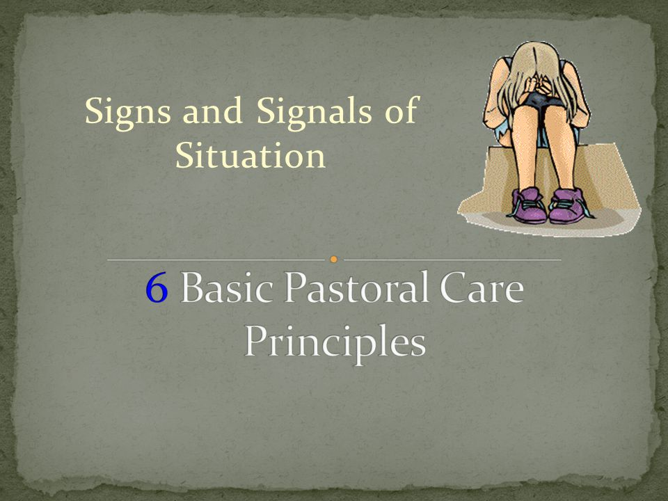 Signs and Signals of Situation