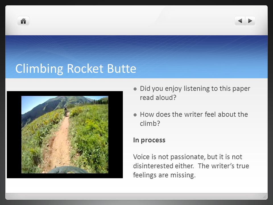 Climbing Rocket Butte Did you enjoy listening to this paper read aloud.